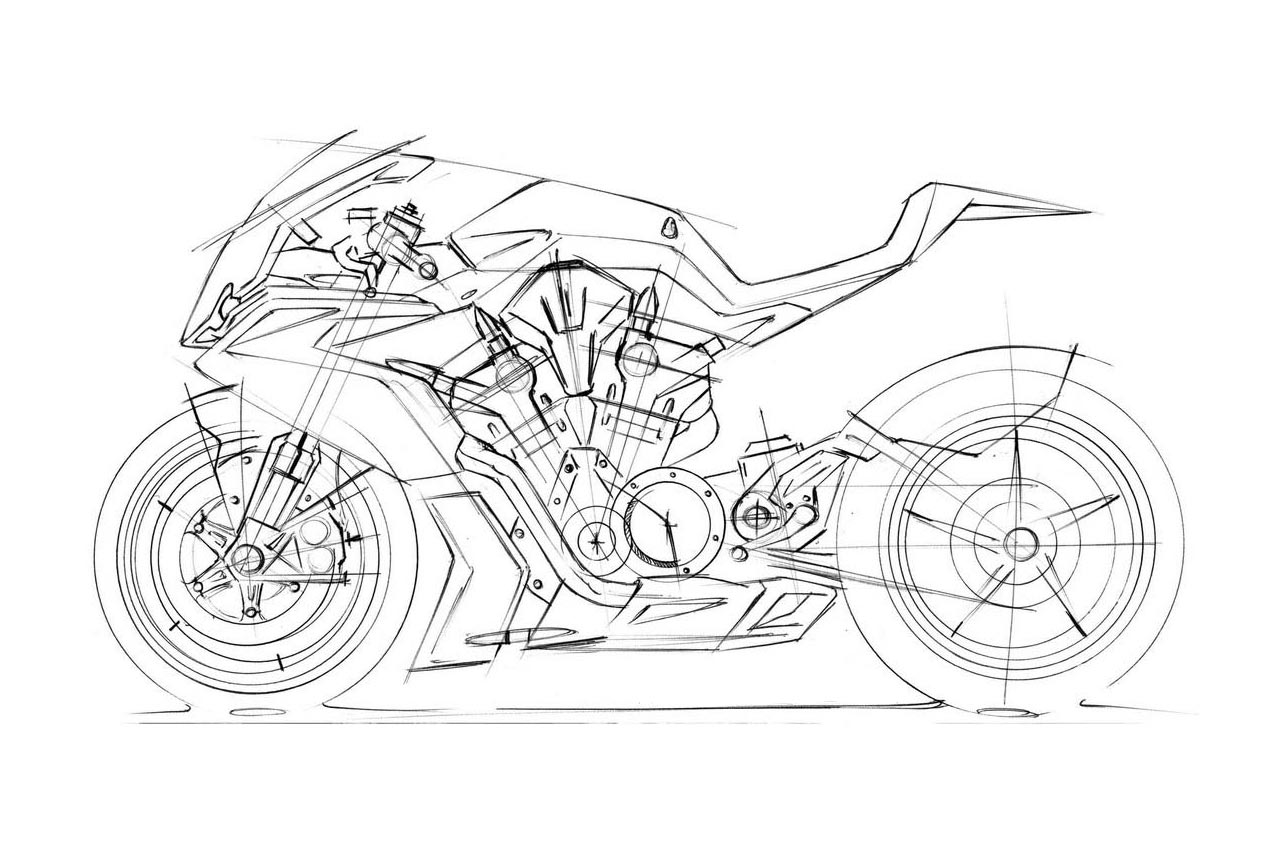 April Fools Ducati V4 Superbike Spied In Trademark Docs