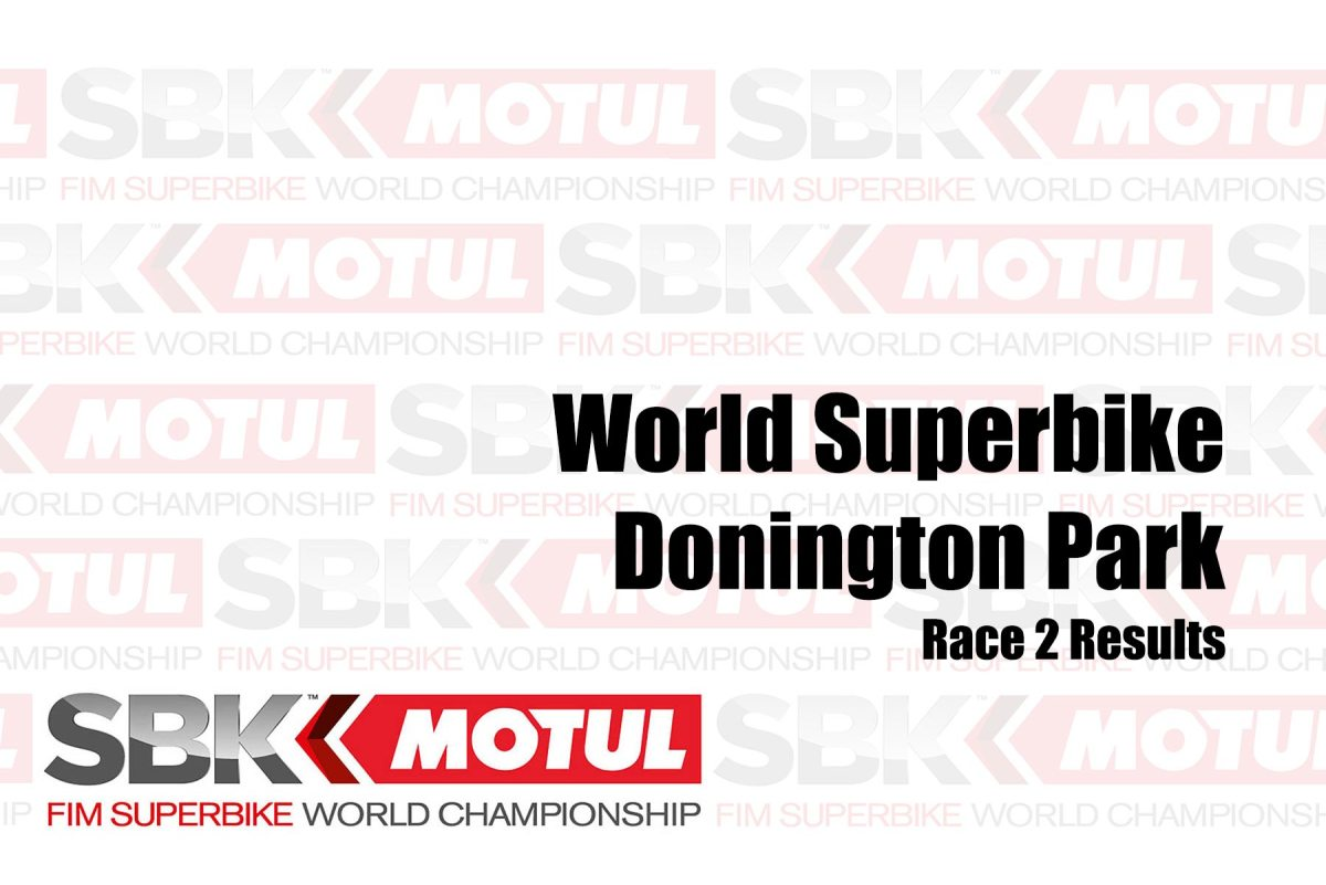 WorldSBK Race Results from Donington Park – Race 2