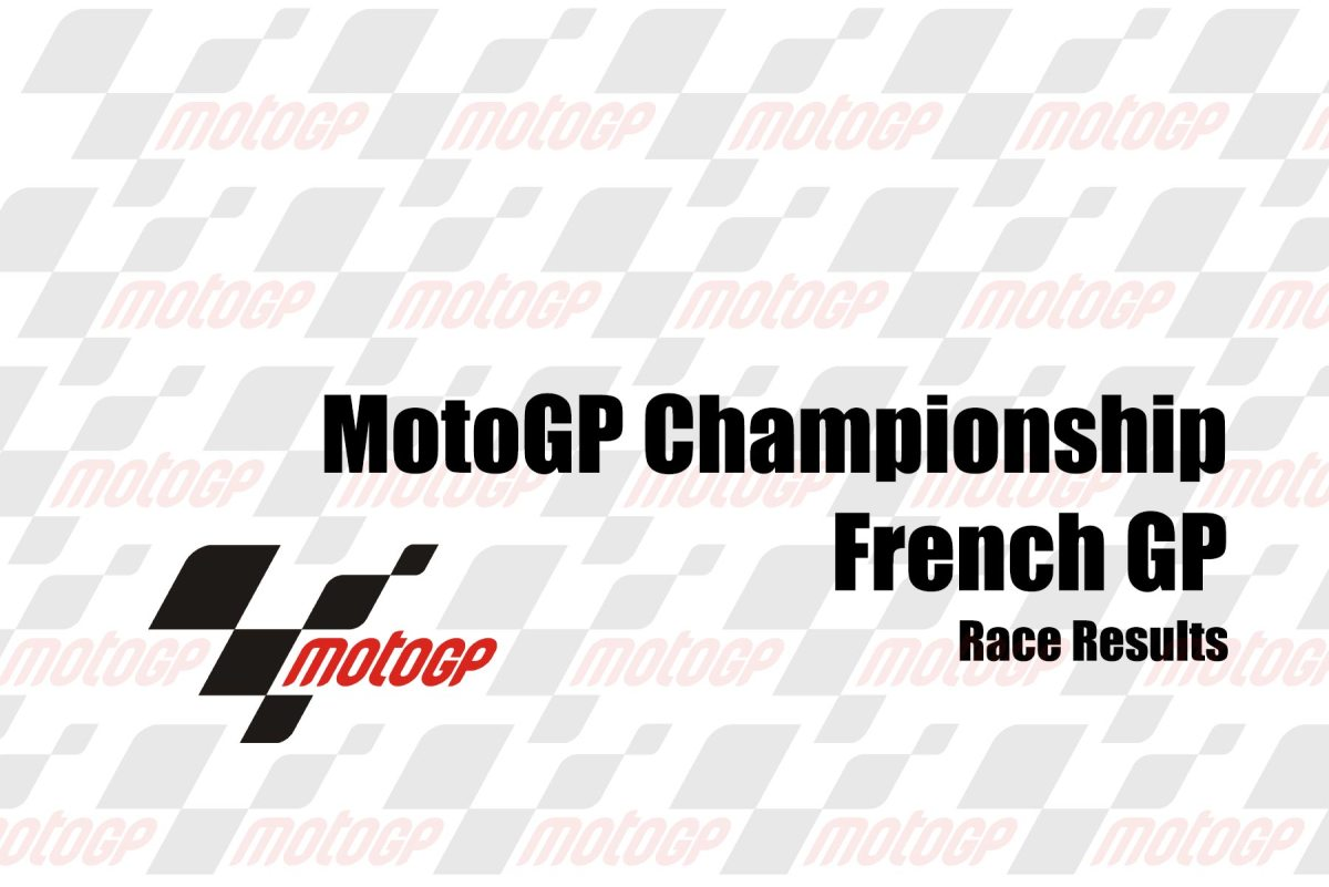 MotoGP Race Results from the French GP