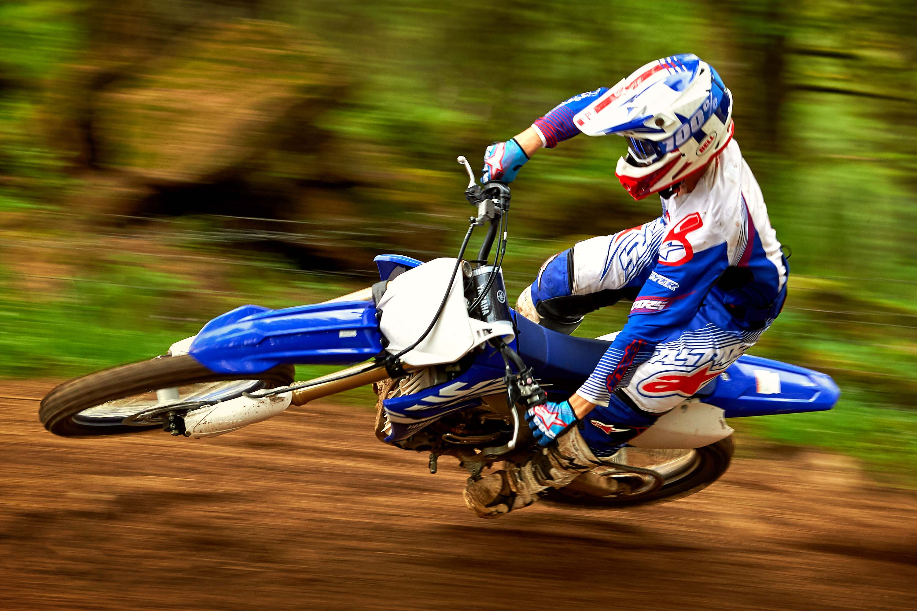 2018 yamaha yz450f debuts with tuner app asphalt rubber for Yamaha yz 450f