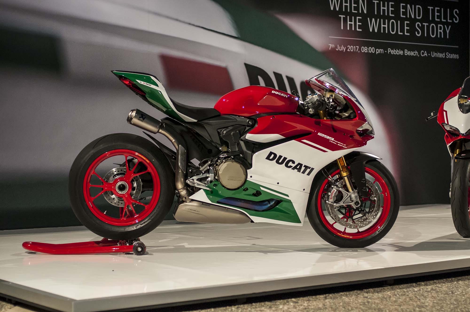 Ducati Close Up Wallpaper