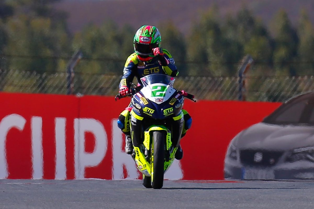 Ana Carrasco Makes History in WorldSSP 300 - Becomes First Woman to Win a World Championship Race