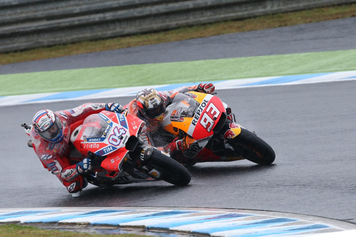 Andrea Dovizioso Wins Nail-Biter at the Japanese GP