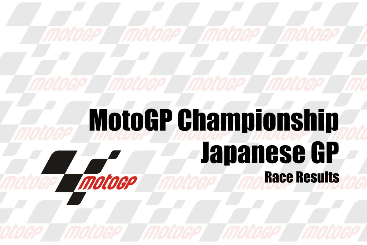 MotoGP Race Results from the Japanese GP