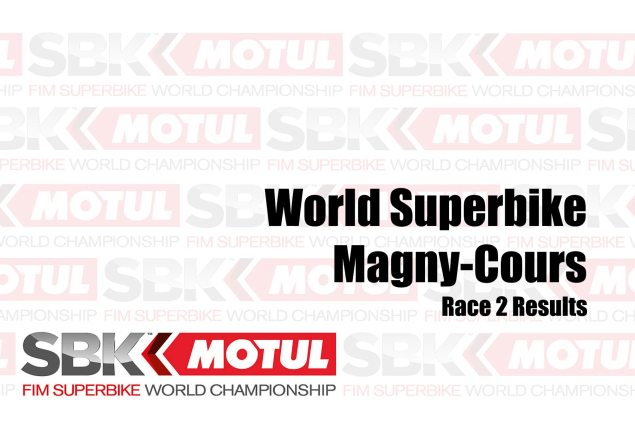 WorldSBK Race Outcomes from Magny-Cours – Race 2