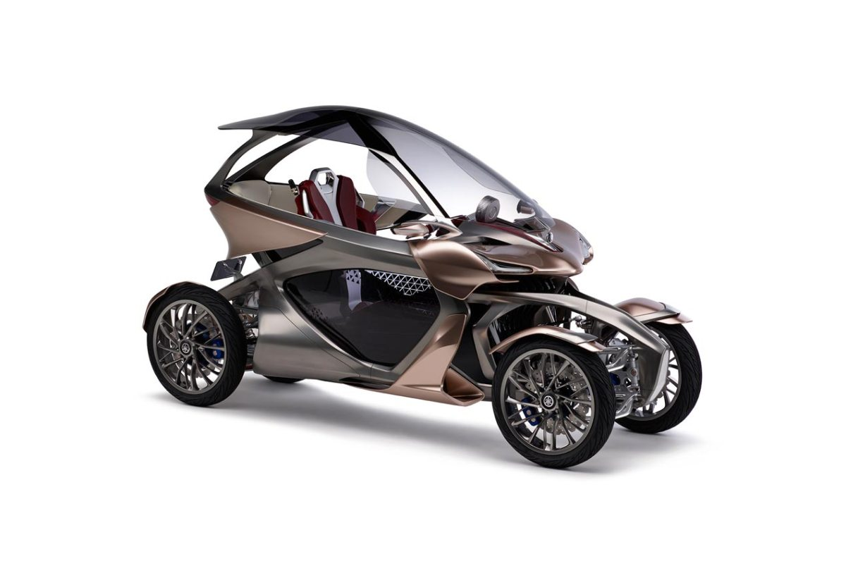 Yamaha's New Leaning Car Concept...The Future?