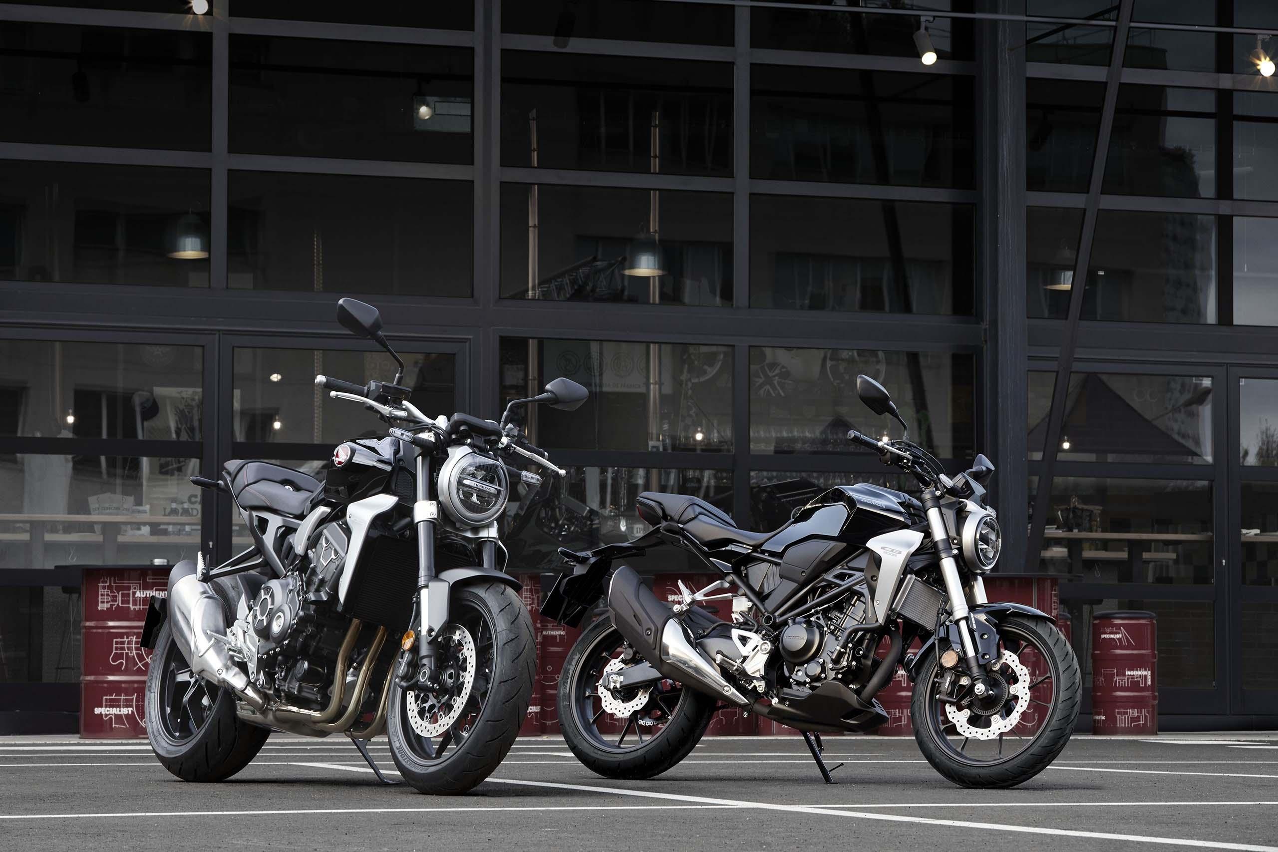 "Honda Creates Eye-Catching Mini ""CB"" Bikes for Europe - Asphalt & Rubber"
