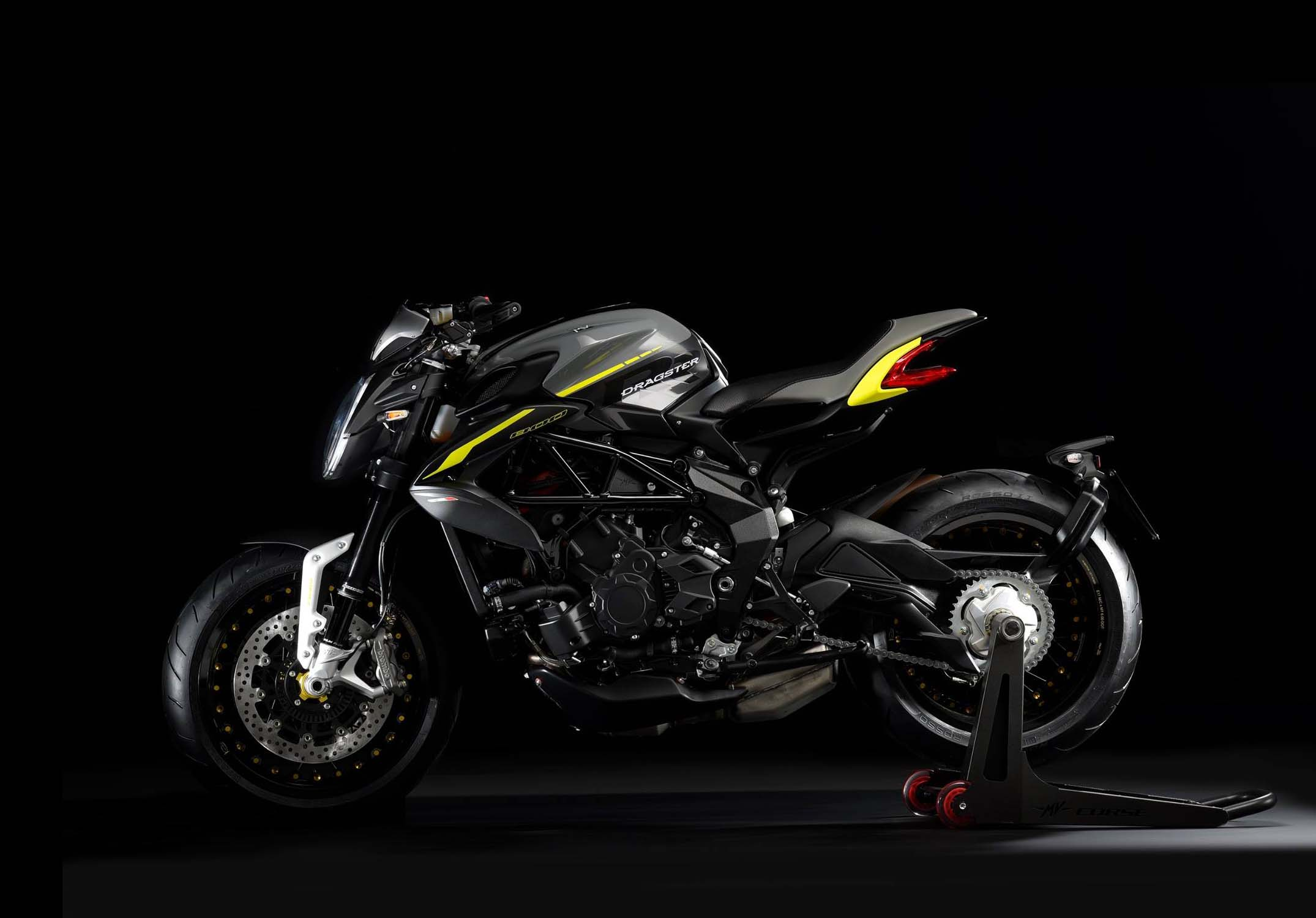 No One Seemed To Notice That The Mv Agusta Dragster 800 Rr Is New For The 2018 Model Year Asphalt Rubber