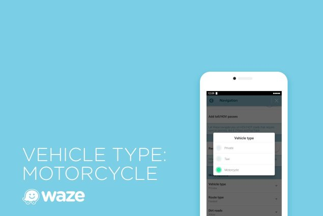 Map App Waze Provides Higher Motorbike Help