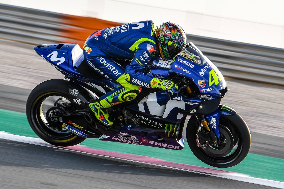Valentino Rossi Signs Two-Year Contract with Yamaha