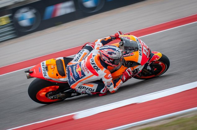 Marquez Continues Streak with Pole on the Americas GP