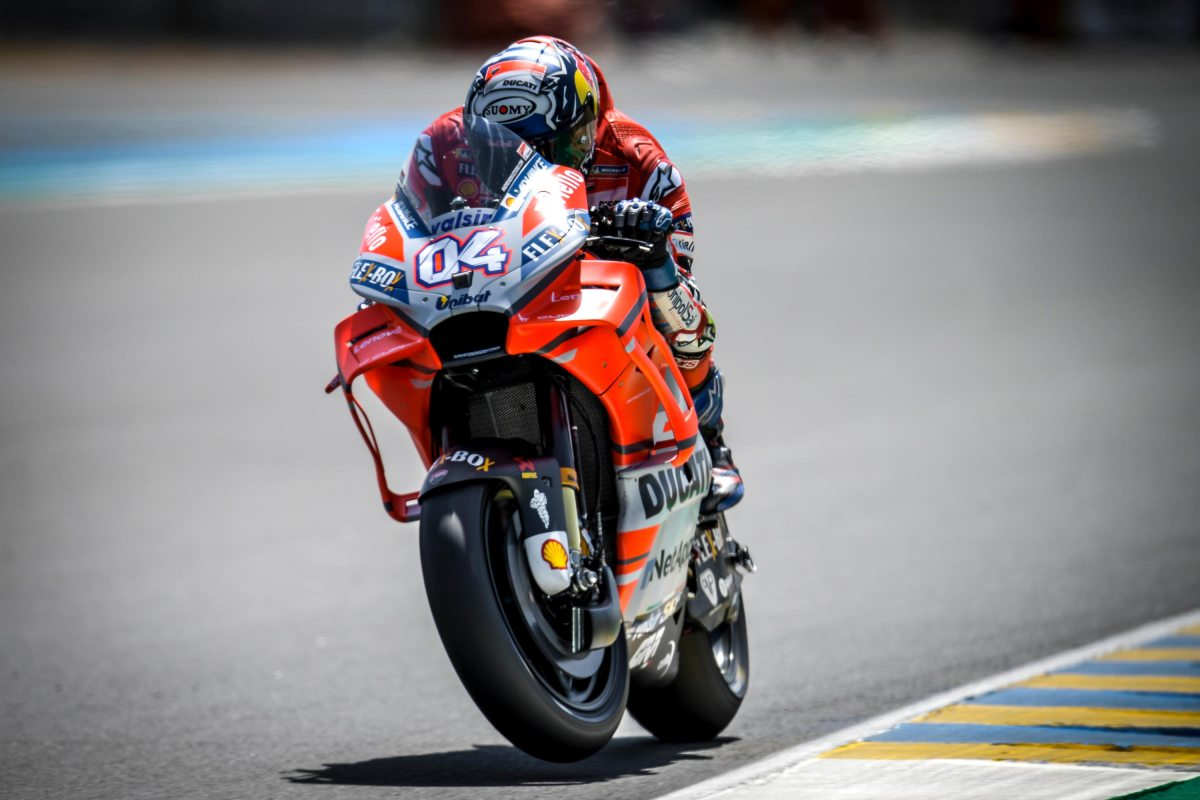 Friday MotoGP Summary at Le Mans: Old Hards vs. New Softs, Avoiding Electronics, & Dovi's New Deal