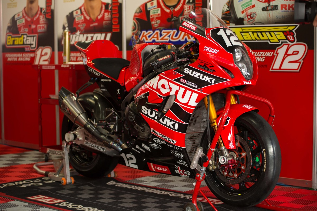 Up-Close with the 2018 Yoshimura Suzuki GSX-R1000R Suzuka 8-Hours Race Bike