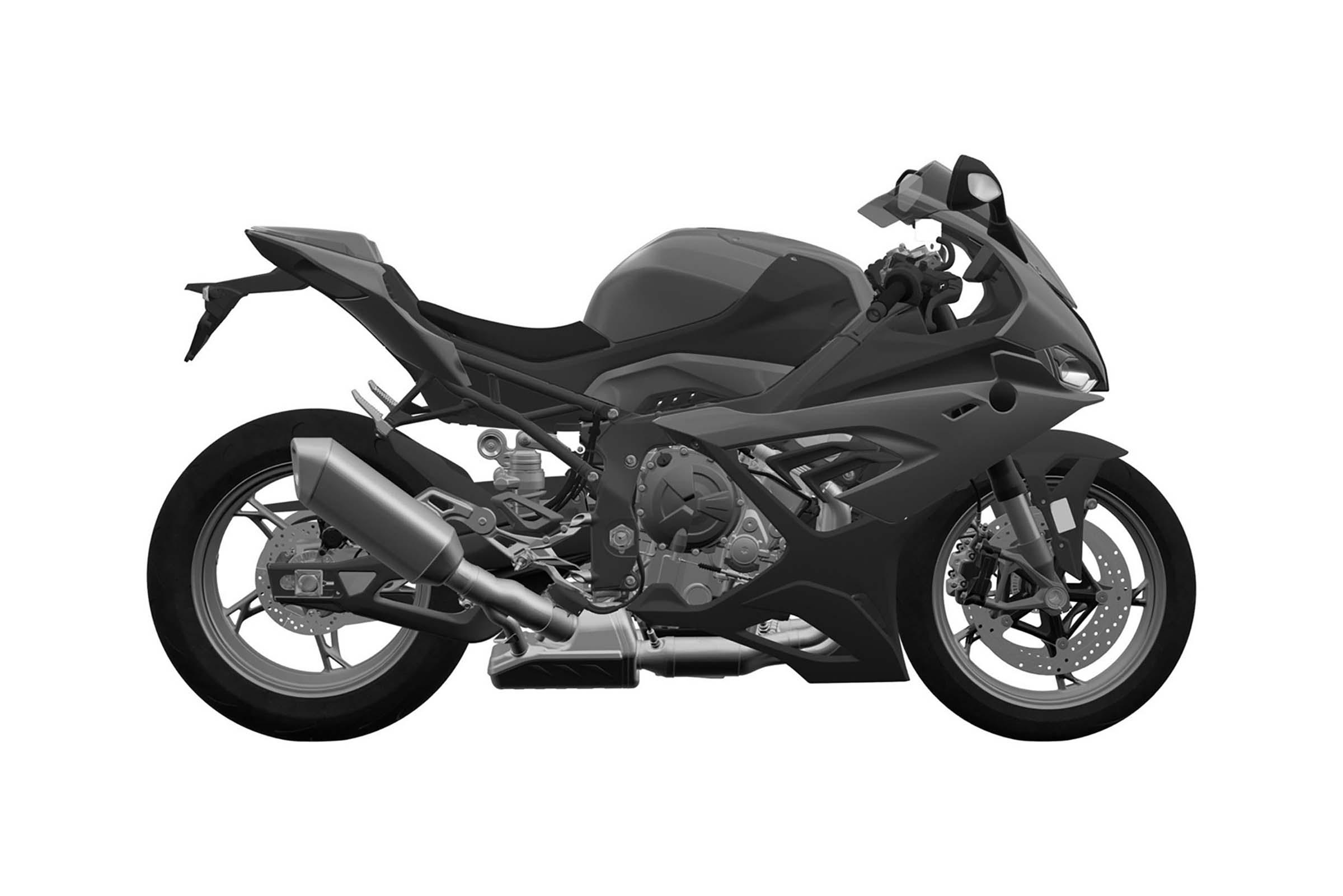 Design Patents Show Off 2019 Bmw S1000rr Superbike Asphalt Rubber