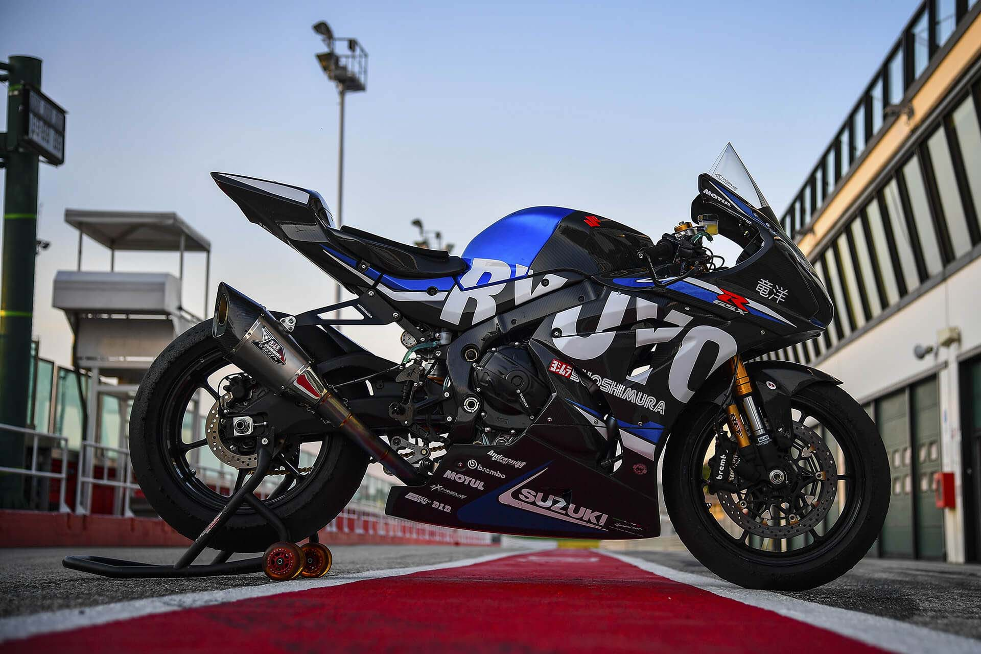 The Suzuki GSX-R1000 Ryuyo, 209hp of Superbike - Asphalt