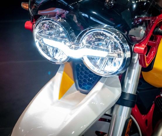Up-Close with the Moto Guzzi V85 TT