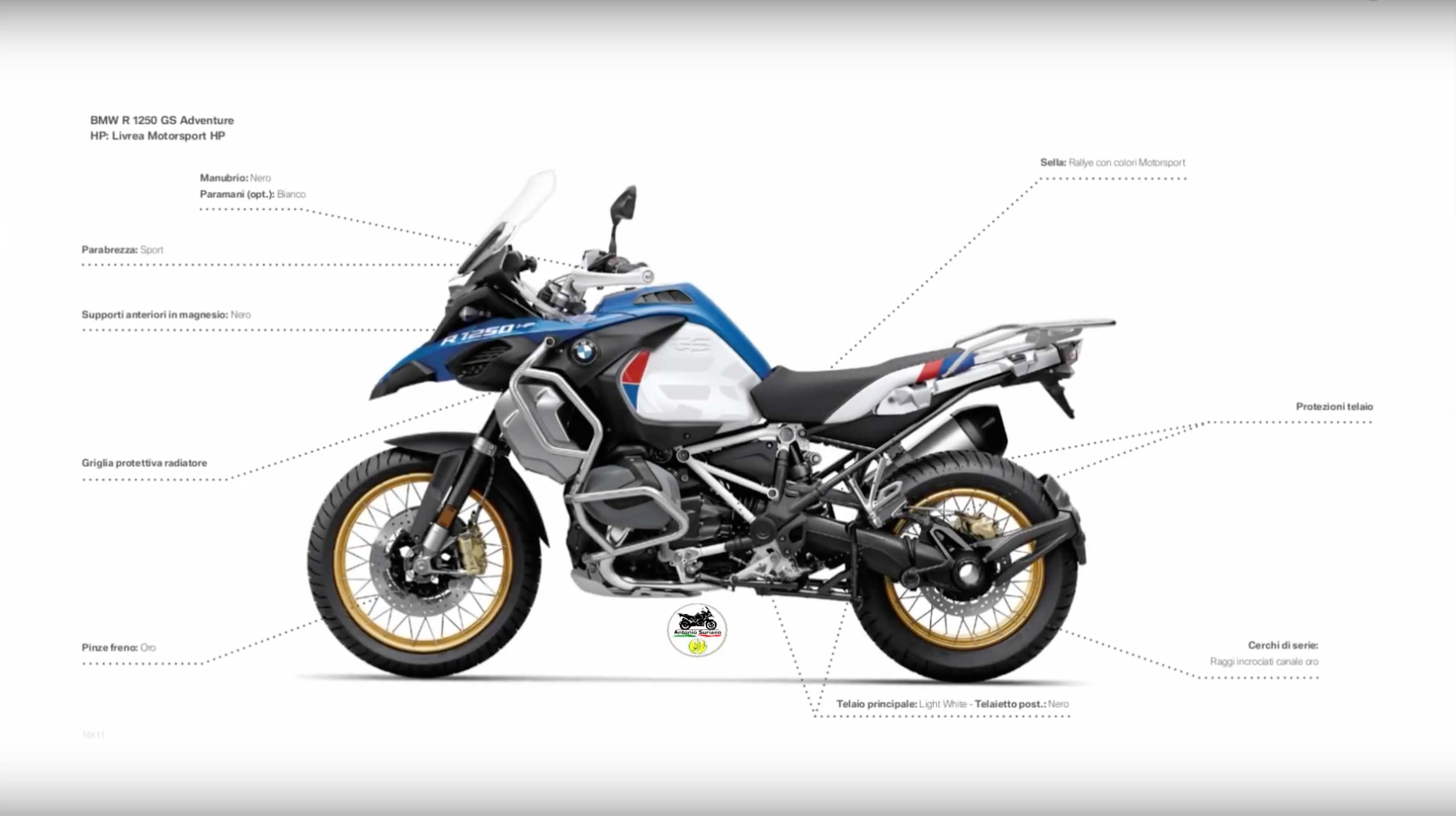 Leaked Photos And Details Of The 2019 Bmw R1250gs Adventure