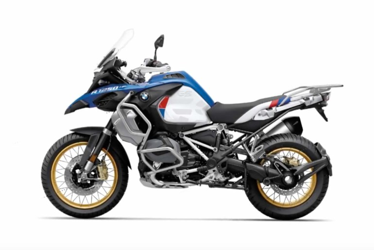 leaked photos and details of the 2019 bmw r1250gs. Black Bedroom Furniture Sets. Home Design Ideas