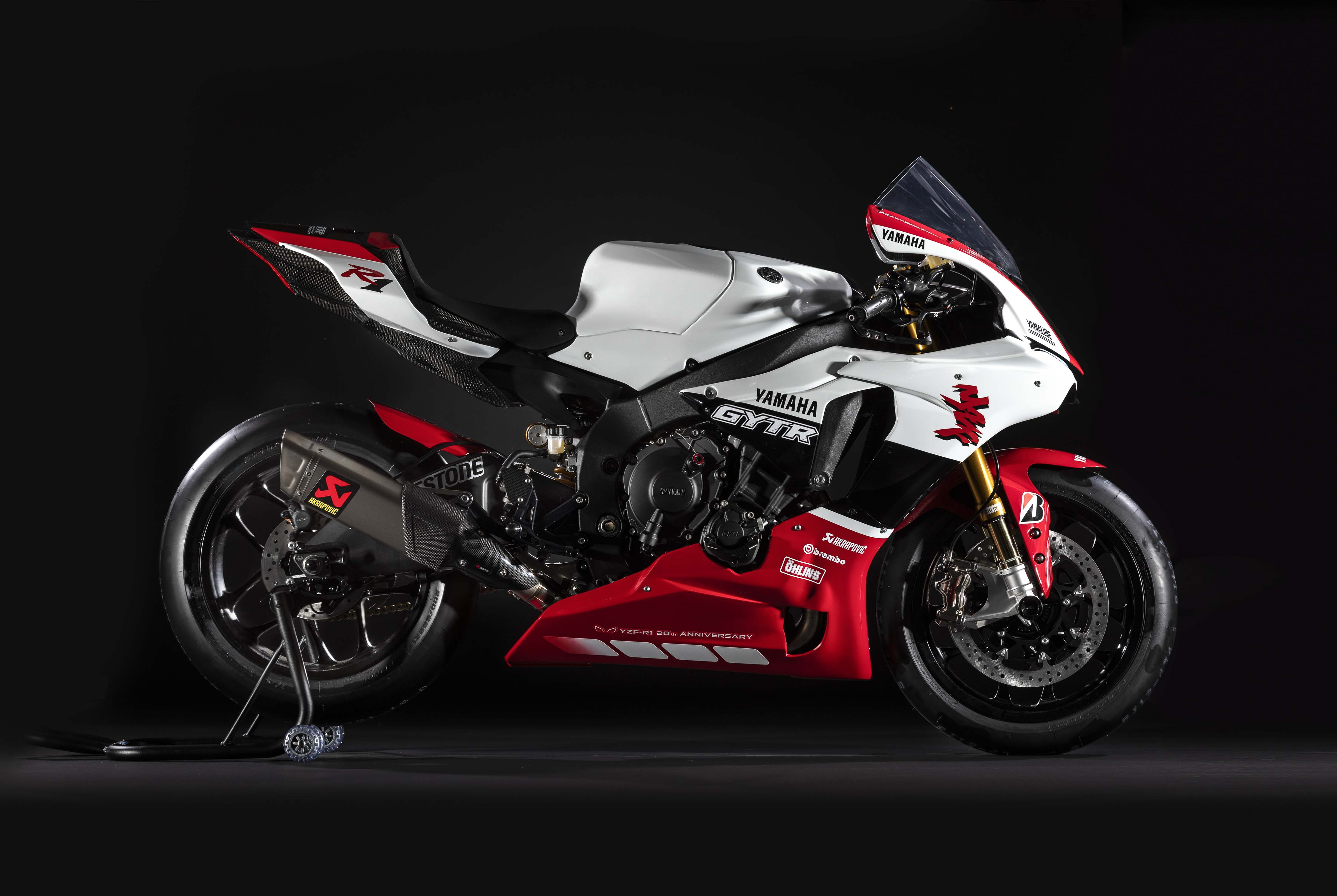 The Yamaha Yzf R1 Gytr Superbike Celebrates 20 Years Of The R1 So
