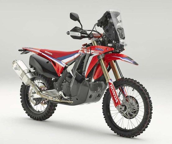 Honda CRF450L Rally Concept Quietly Debuts in Italy