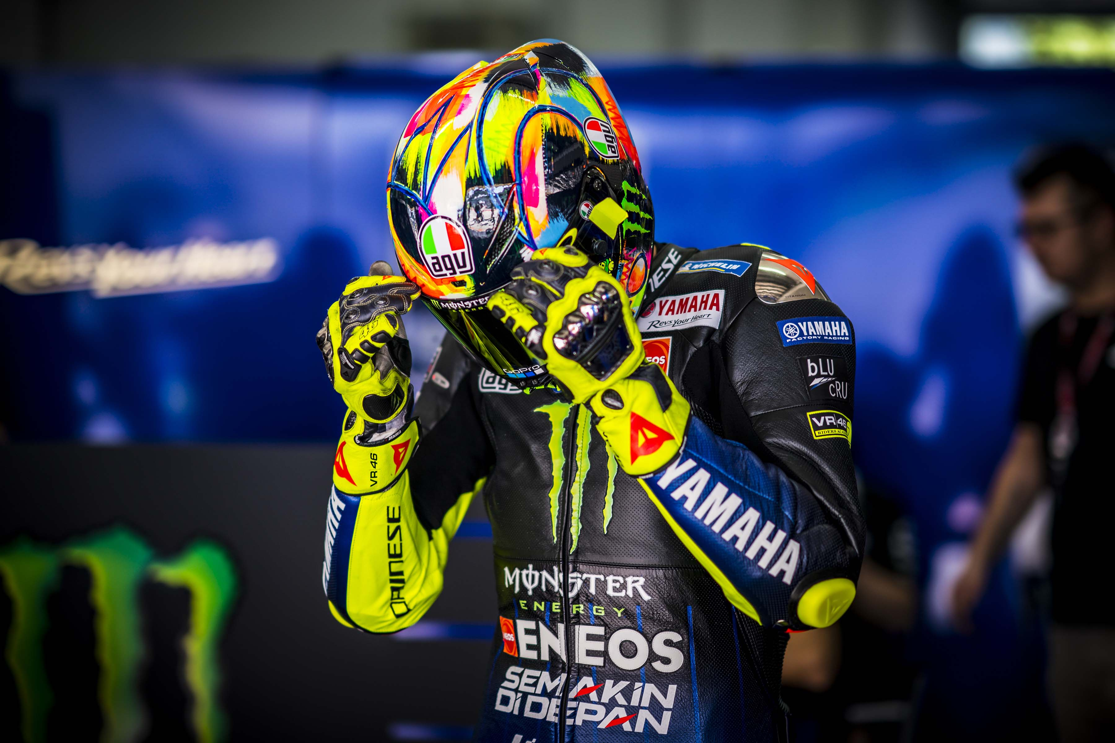 Valentino Rossi Tests Positive For Covid 19 Asphalt Rubber