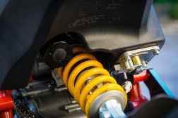 Don't let the Ohlins spring confuse you, this is a WP shock with full adjustment.