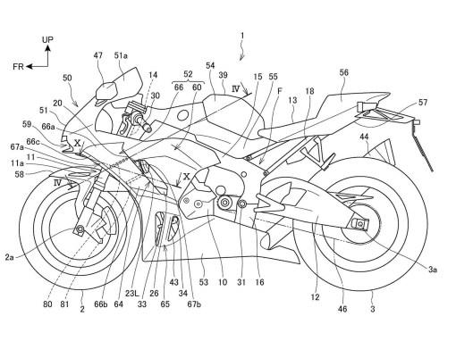 2020-Honda-CBR1000RR-active-aerodynamics-patent-01