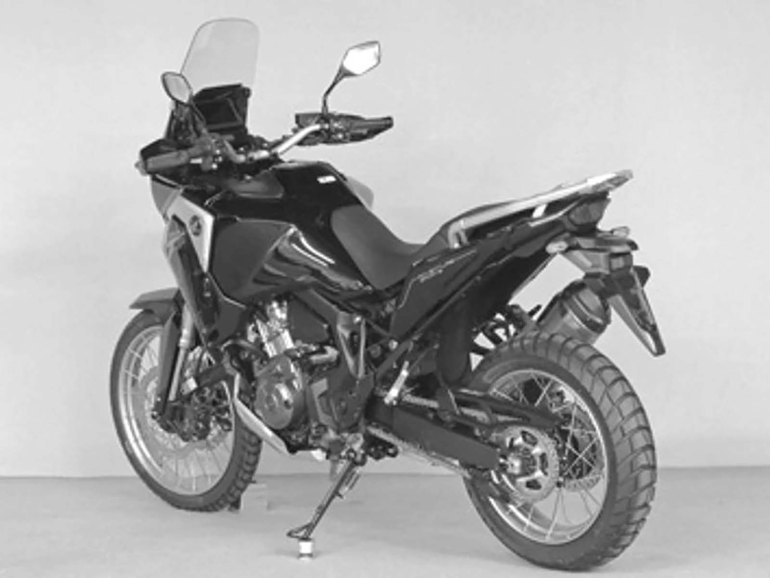 honda africa twin  coming  week asphalt rubber