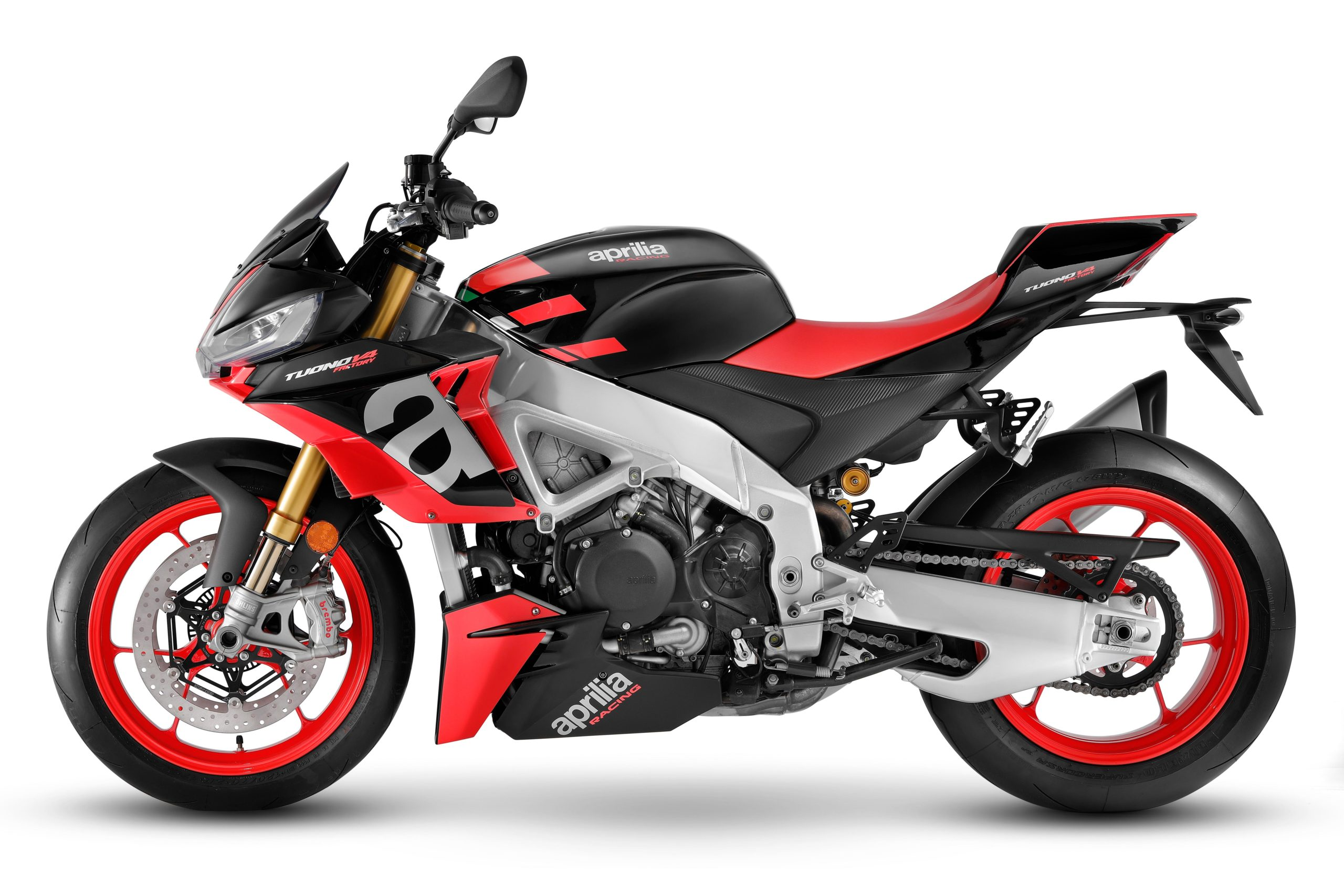 Aprilia Tuono V4 Gets a Facelift & Other Refinements for 2021