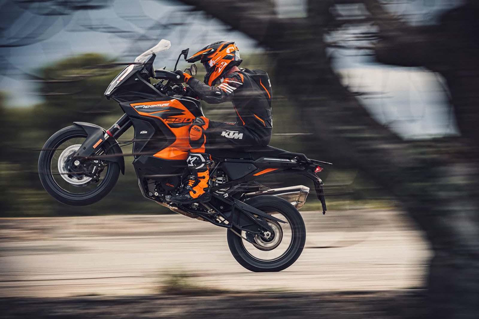 Обновленный KTM 1290 Super Adventure S дебютирует с улучшениями
