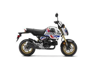 2022 Honda Grom SP Pearl White RHP