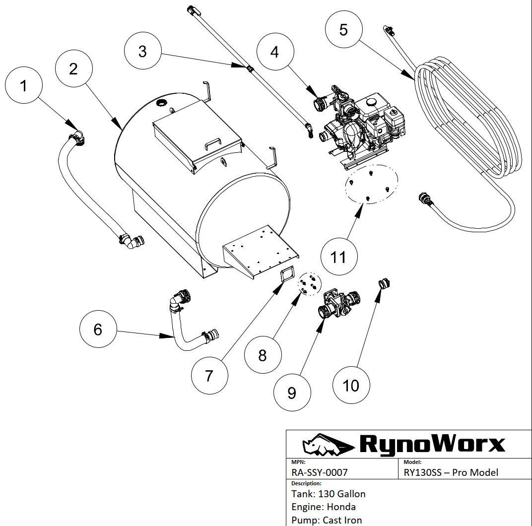 Engine Pump Fittings