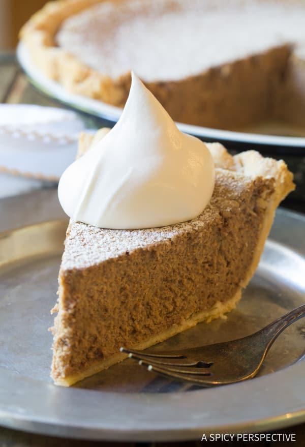 Heavenly Cinnamon Pie Dessert Recipe | A Spicy Perspective