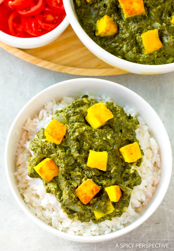 Creamy Saag Paneer Recipe - A Spicy Perspective