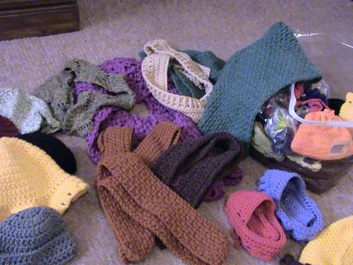 Scraps scarves small