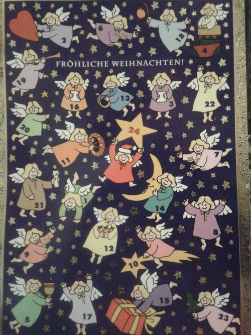 German advent calendar