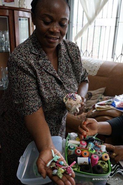 Lucy #lastingchange Team Honk Tanzania