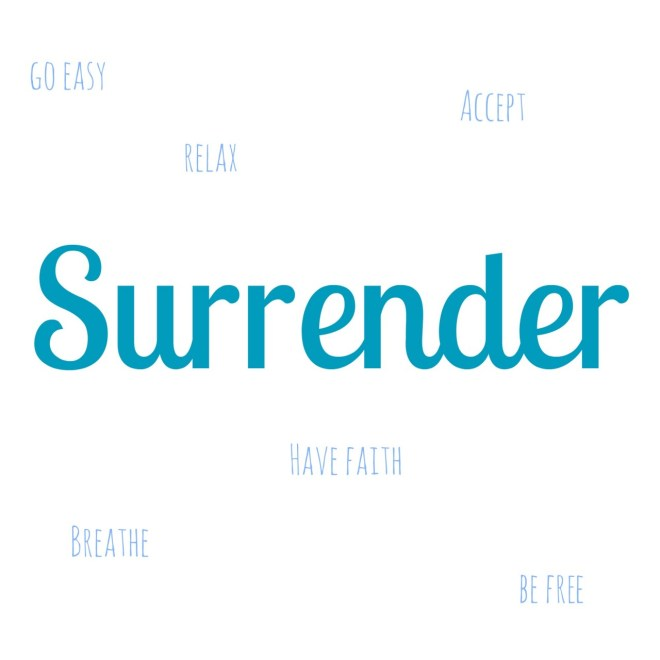 Word of the Year 2015 Surrender
