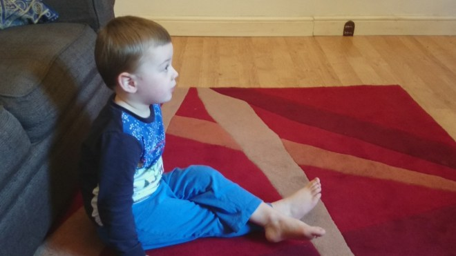 Little Man Cross Legged for Cosmic Kids Zen Den