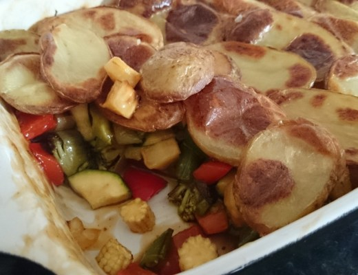 Roasted Vegetable Hot Pot Recipe