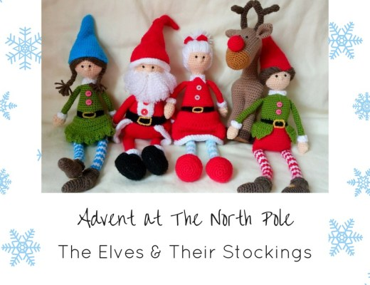 Advent at The North Pole Thumbnails Dec 19th - The Elves Hang Their Stockings