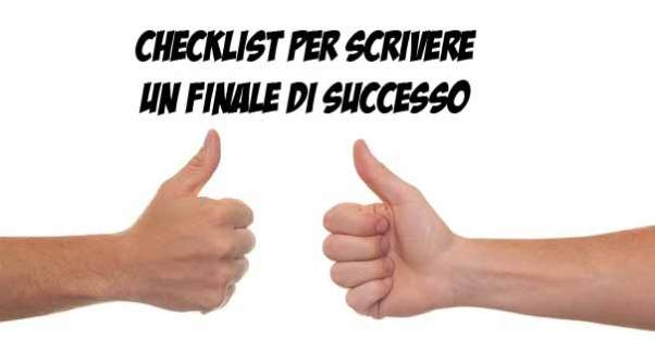 Checklist per scrivere un finale di successo