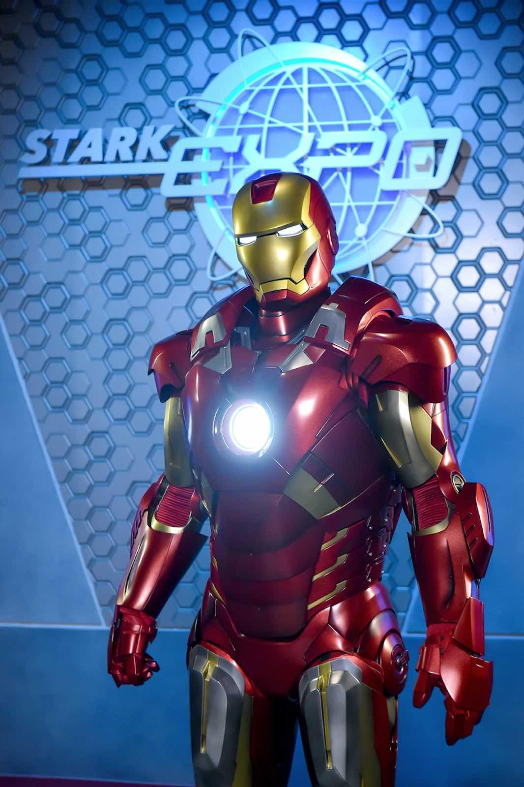 Hong Kong Disneyland Launches Iron Man Experience Early