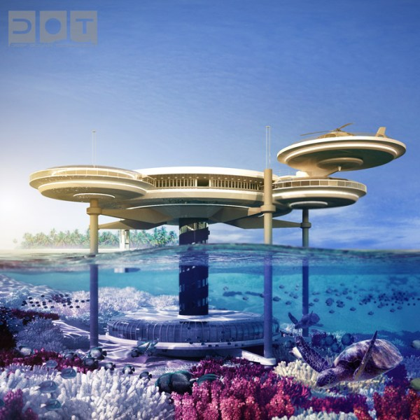 World's Top 7 Underwater Hotels