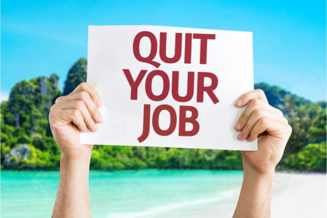 5 Reasons to Quit Your Job