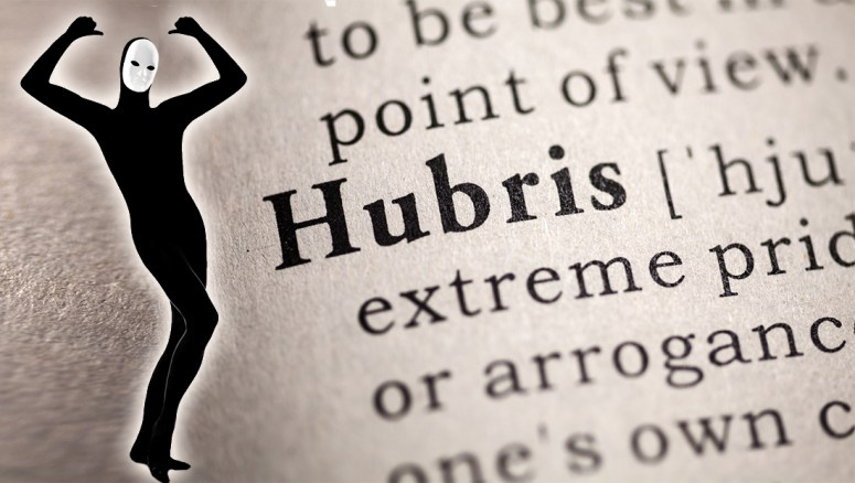 Our Hubris - Aspire Insight-Out Blog by Siraj (Gregory Penn)