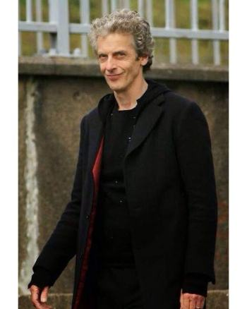 12th Doctor Who Peter Capaldi Men's Coat