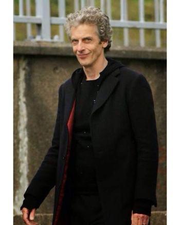 12th Doctor Who Peter Capaldi Men's Coat