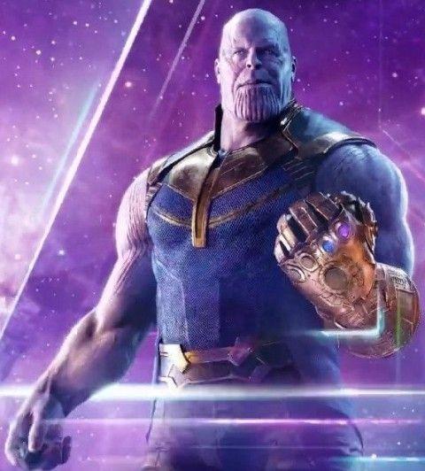 Avengers Endgame Infinity Thanos Leather Vest