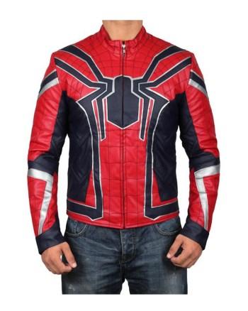 Avengers Endgame Iron Spider Leather Jacket